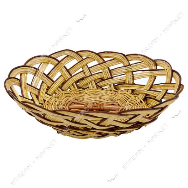 Хлебница плетеная Лоза 20х27см