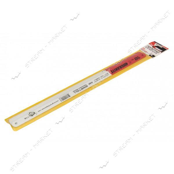Полотно по металлу GRANITE 14-01-118 1-стороннее М2 Bimetal 18*1' 12.5мм 6шт