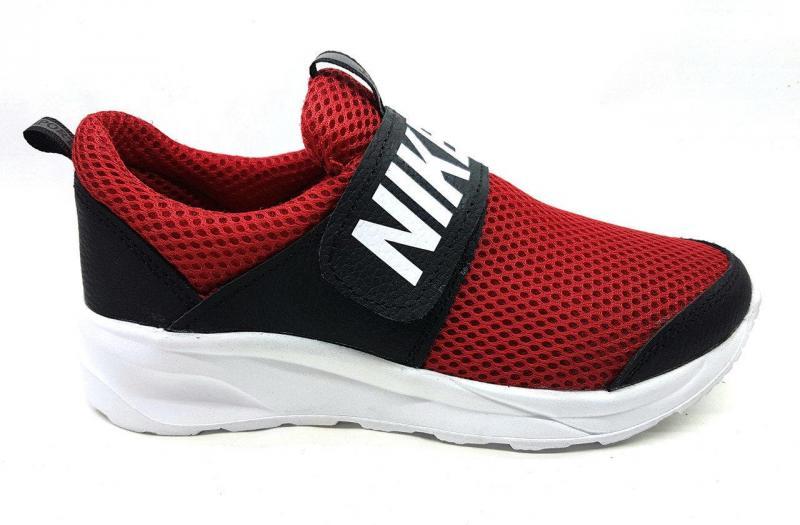 Детские подростковые кроссовки Nike Air Sport на липучке с 32-39рр. Украина
