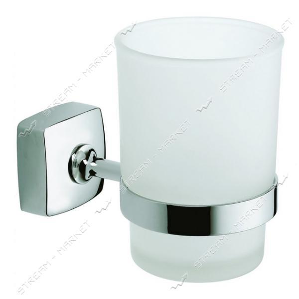 Стакан одинарный для ванной комнаты К-044 (стекло)