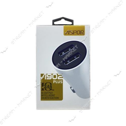 Автомобильное зарядное устройство Aspor A902plus 3.4A 2USB