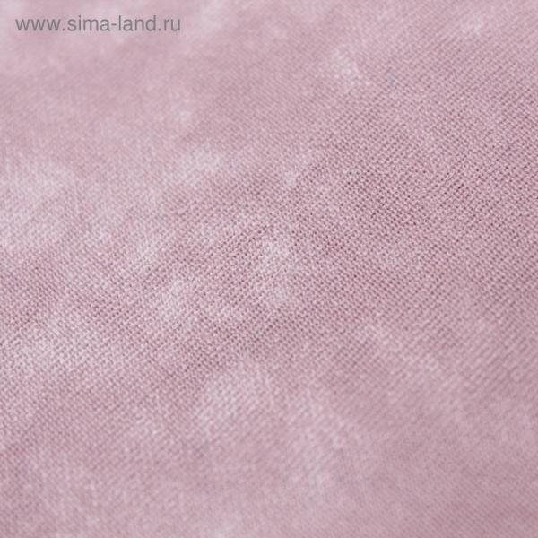Трикотаж костюмный, бондинг софт, ширина 150 см, цвет розовый