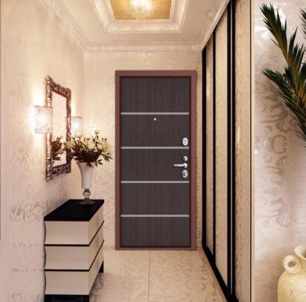 Фото Двери в интерьере Входная дверь Rase