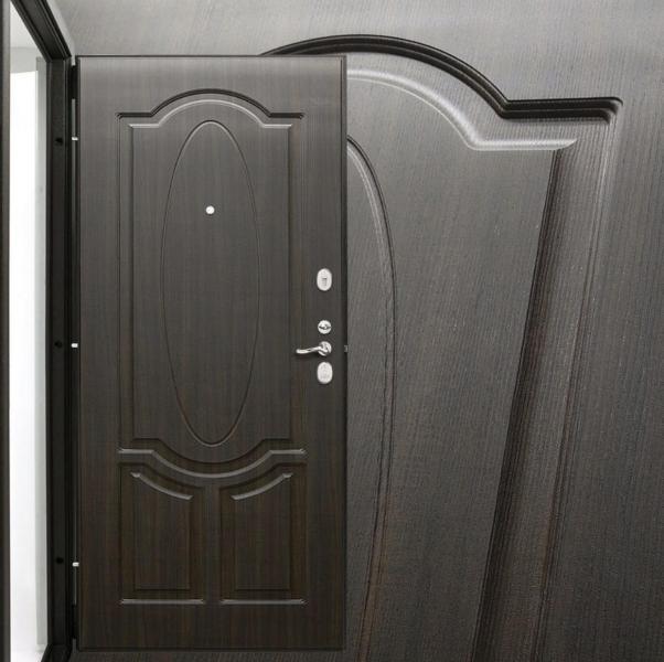 Фото ДВЕРИ В КВАРТИРУ СЕРИИ «форт» Дверь Amolli
