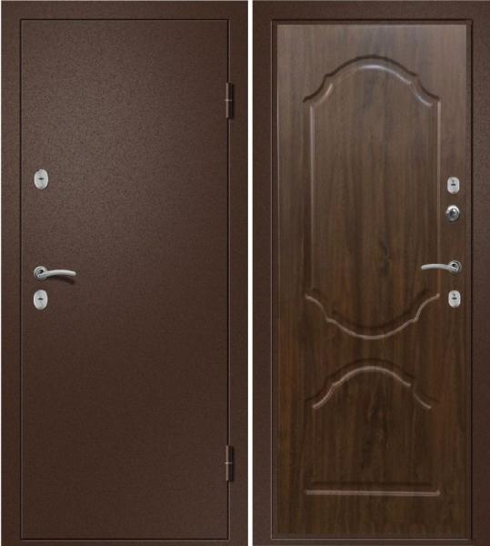 Фото ХИТЫ ПРОДАЖ / ТОП Дверь гнутый Классика(орех темный)