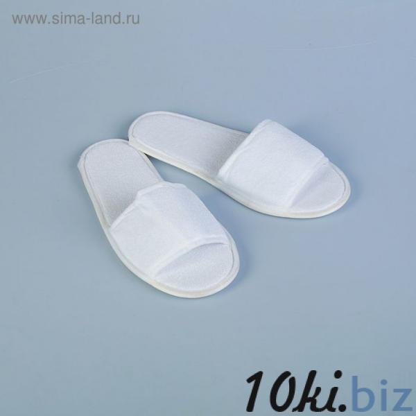 Тапочки махровая ткань, поролон 3 мм., картон  43 размер купить в Лиде - Домашние тапочки женские