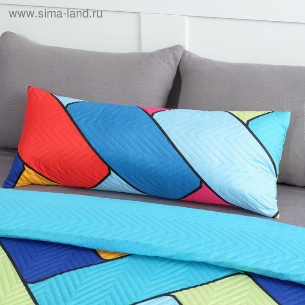 Подушка декоративная Экономь и Я «Волны» 30×80 см, 100% полиэстер