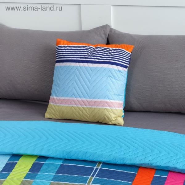Подушка декоративная Экономь и Я «Радуга» 40×40 см, 100% полиэстер