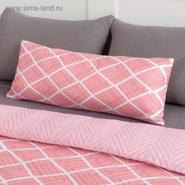 Подушка декоративная Экономь и Я «Пудра» 30×80 см, 100% полиэстер