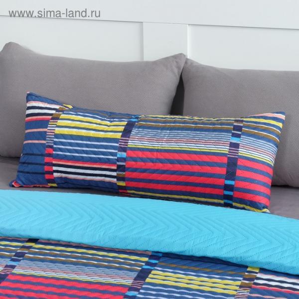 Подушка декоративная Экономь и Я «Геометрия» 30×80 см, 100% полиэстер