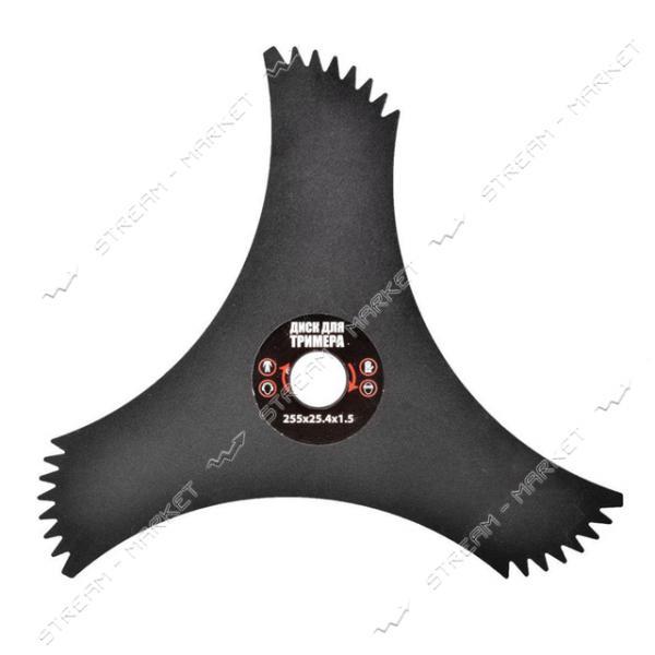 Диск для триммера Гранит 10' 3Тх25.4 с зубцами