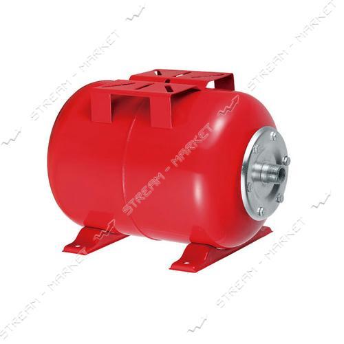 Гидроаккумулятор горизонтальный 24 л красный