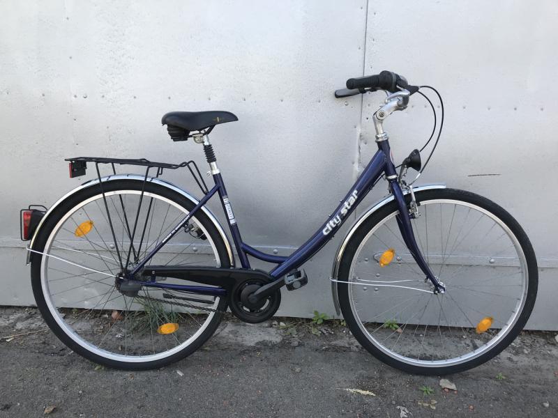 Велосипед CITI STAR 28 на планетарной втулке SRAM 7