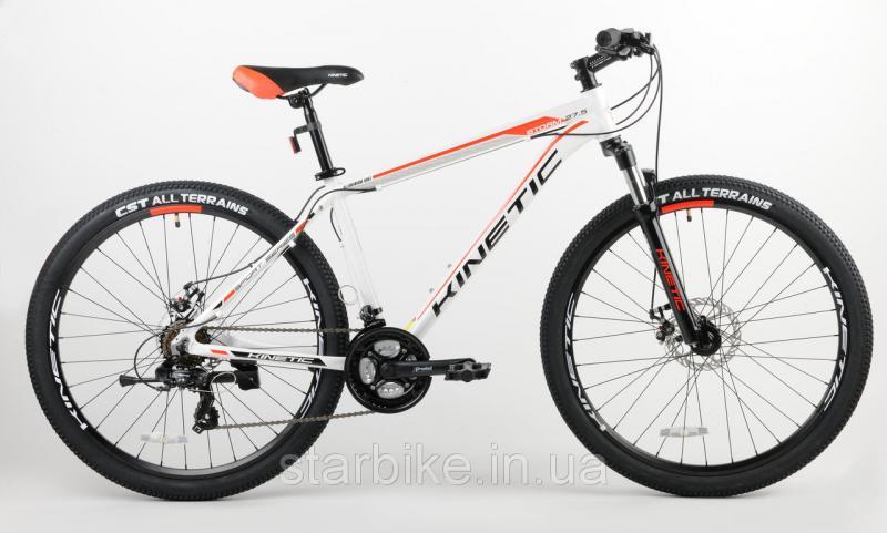 """Горный велосипед KINETIC STORM 27,5"""" Белый, 19"""""""