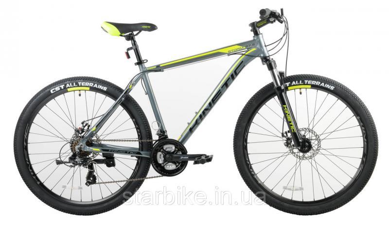 """Горный велосипед KINETIC STORM 27,5"""" Серый, 19"""""""
