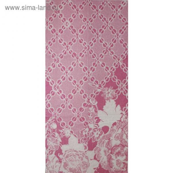 Полотенце махровое Privilea «Шанель», 75х150 см, розовый