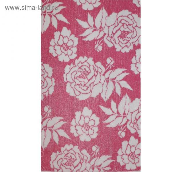 Полотенце махровое Privilea «Пионы 50х70 см, розовый