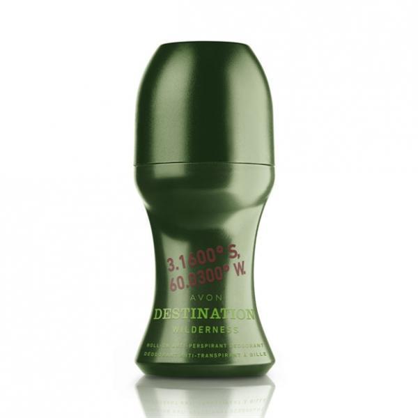 Фото парфюмерия, по типу аромата, фужерный Дезодорант-антиперспирант с шариковым аппликатором Avon Destination Wilderness (50 мл)