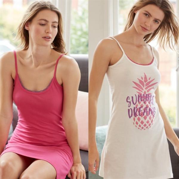 Набор женских ночных сорочек (2 шт.)