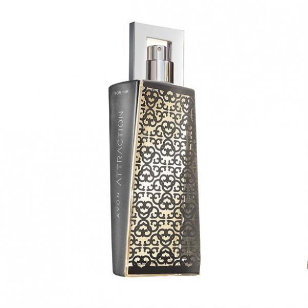 Фото парфюмерия, по типу аромата, древесный Промокод ATTRACTION. Туалетная вода Avon Attraction для Него (75 мл). Лимитированный дизайн