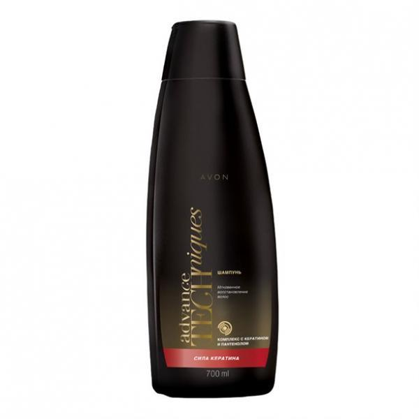 Фото  Шампунь для волос «Сила кератина» (700 мл)