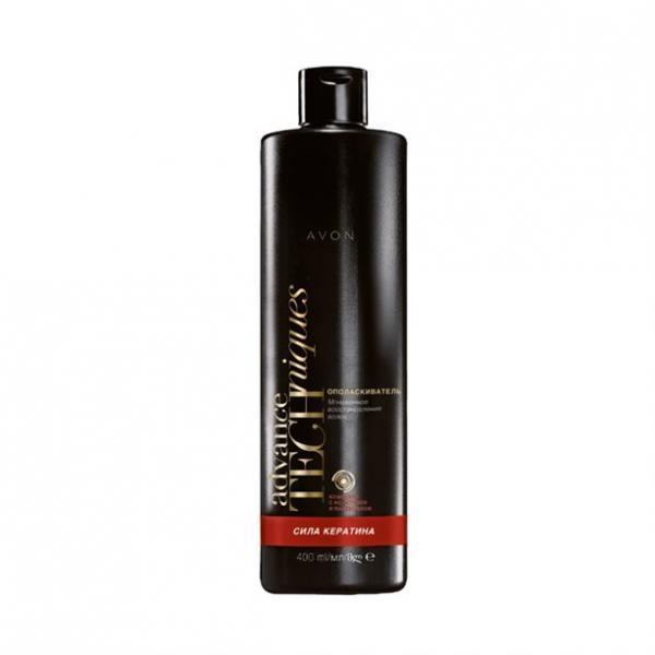 Фото для волос, шампуни и ополаскиватели Ополаскиватель для волос «Сила кератина» (400 мл)