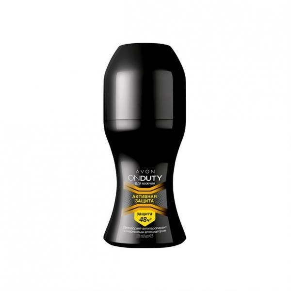 Дезодорант-антиперспирант с шариковым аппликатором «активная защита» для мужчин