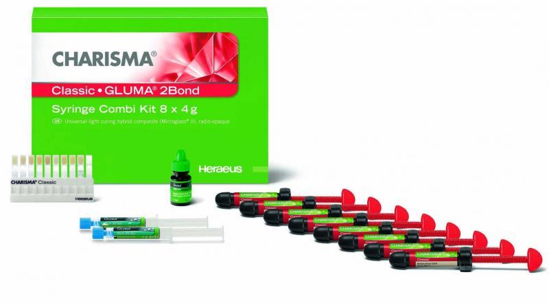 Charisma CLASSIC Syr Combi kit (8 х 4г+Gluma 2Bond)