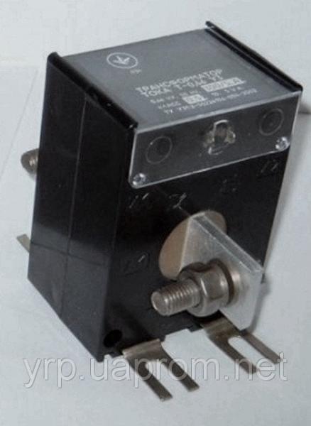 Трансформатор тока Т066 75/5  к.т. 0,5S