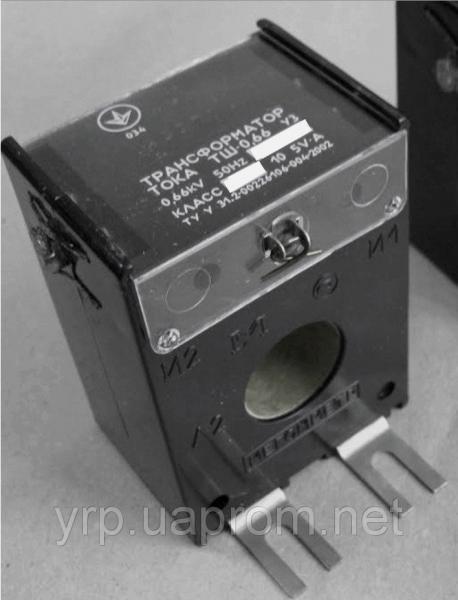 Трансформатор тока ТШ066 200/5  к.т. 0,5S
