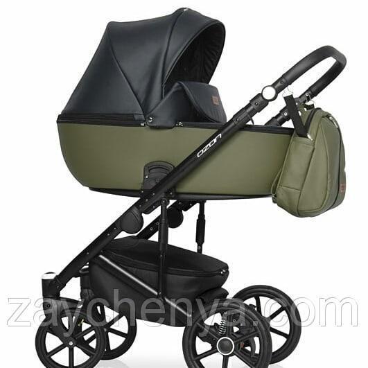 Детская универсальная коляска 2 в 1 Riko Ozon 02 Khaki