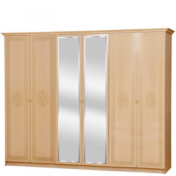 Флоренция Шкаф 6-дверный