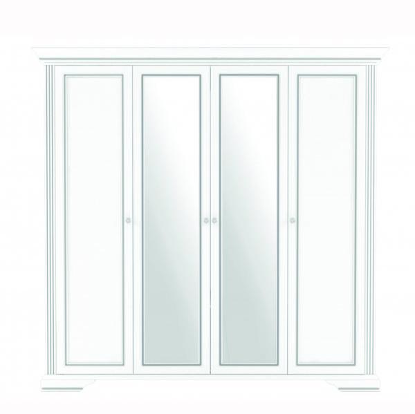Вайт Шкаф 4D(2S)