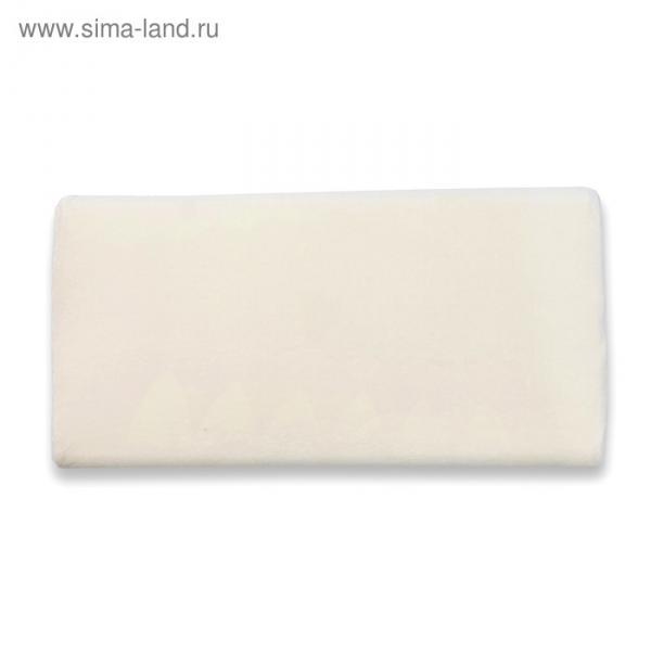 Подушка плоская, размер 50х26 см, чехол велюр, поролон