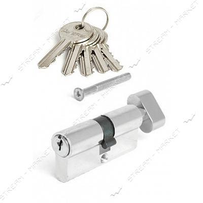Секрет алюминиевый Avers EL-70-C-Ni 35/35 ключ/поворот 5 англ. кл