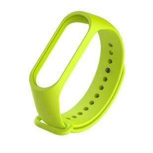 Ремешок для Фитнес-трекера Xiaomi Mi Band 3 Lime green (Код товара:4355)