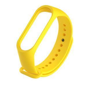 Ремешок для Фитнес-трекера Xiaomi Mi Band 3 Yellow (Код товара:4358)