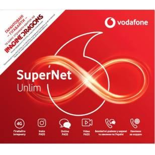 Стартовый пакет Vodafone SuperNet Unlim (Код товара:9493)