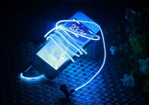Светящийся наушники Glow