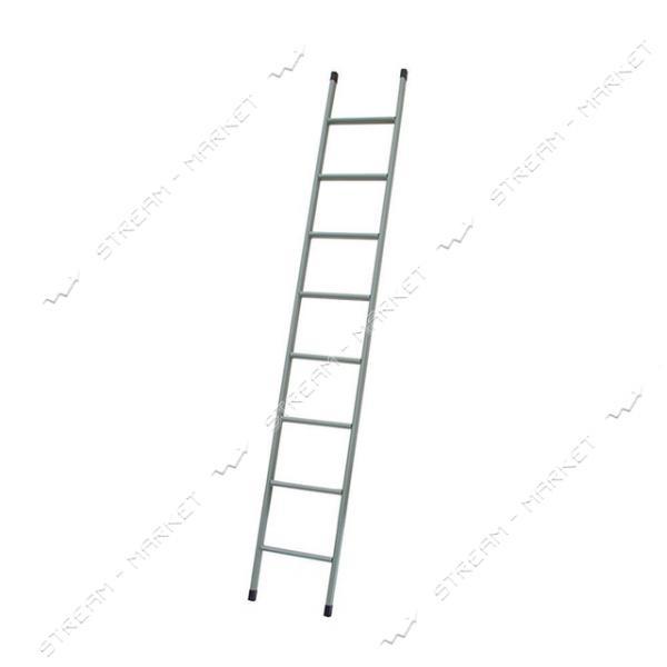 Лестница Технолог приставная 9 ступеней h 2720 мм