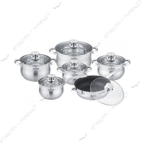 Набор посуды Maxmark MK-BL2512А
