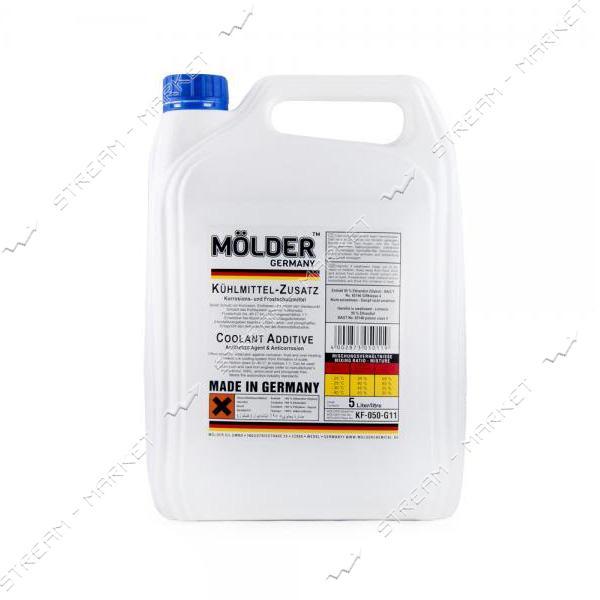 Антифриз MOLDER KF-050-G11 концентрат 5 л синий