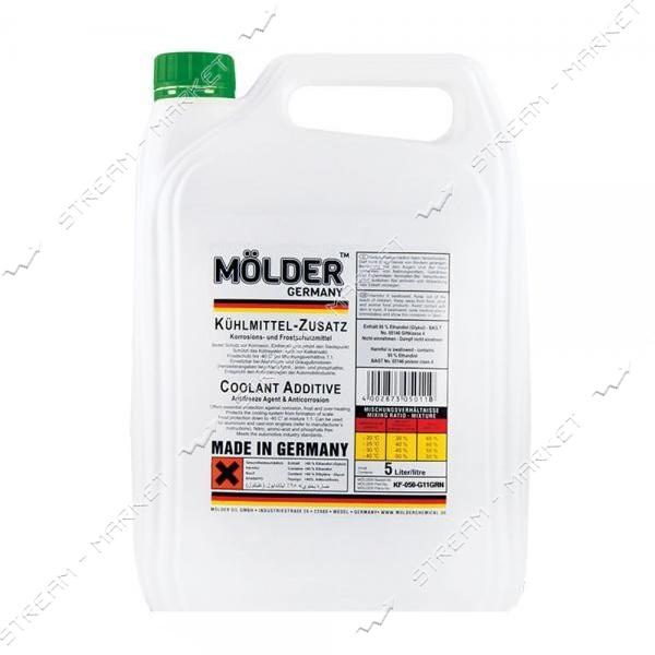 Антифриз MOLDER KF - 050 - G11GRN концентрат 5 л зеленый
