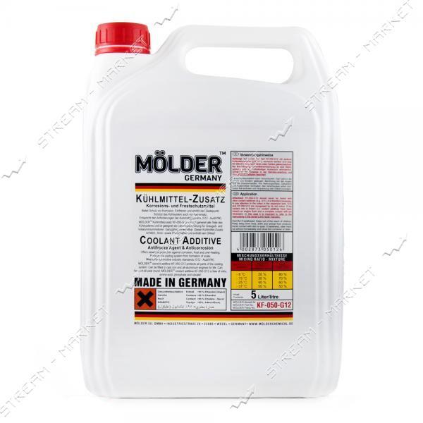 Антифриз MOLDER KF-050-G12 концентрат 5 л красный