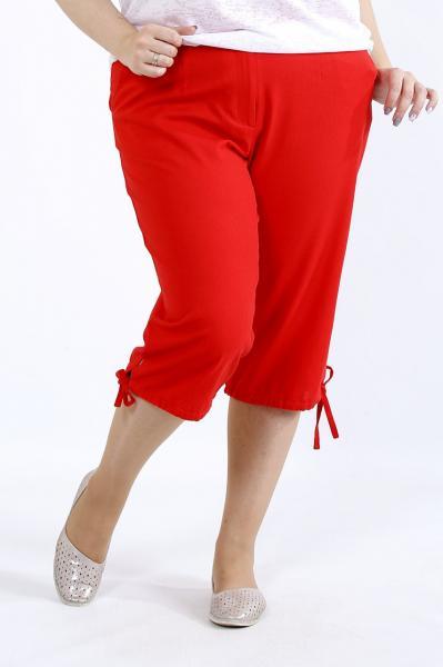 Женские летние бриджи брюки льняные больших батальных размеров 42-74
