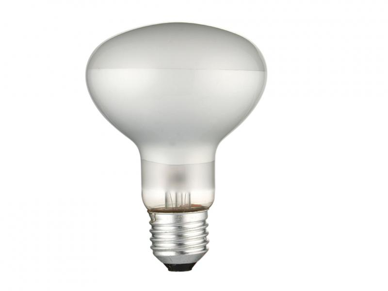 лампа рефл_DELUX_R80 60Вт Е27_мат.