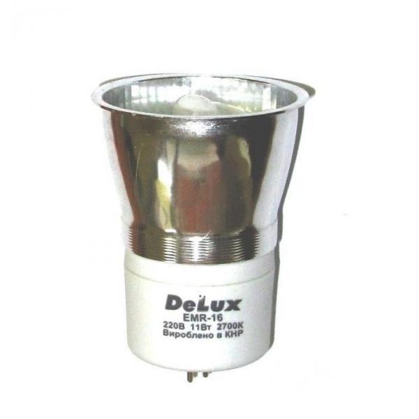 Люминесцентная лампа DELUX EMR 16 11W 2700K G5.3