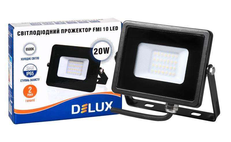 Прожектор светодиодный FMI 10 LED 20Вт 6500К IP65