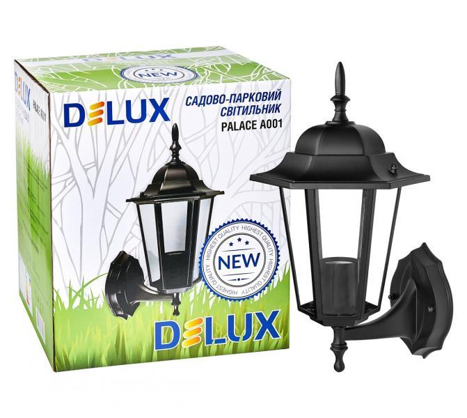 светильник садово-парковый PALACE A001 60Вт Е27 черный