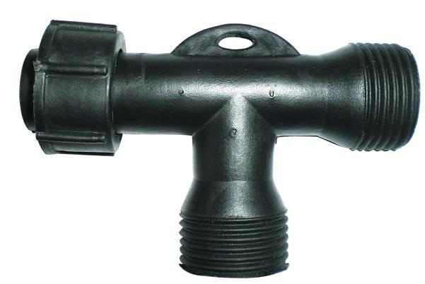 Коннектор для гирлянд DELUX T-type на 2 выхода IP44 EN